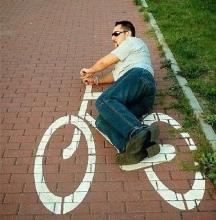 aszfaltbetyár biciklis