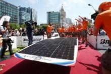 Cél a World Solar Challengen
