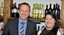 Koch Csaba és Fehér Anna