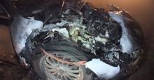 kiégett autó