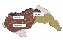 térkép a zsidóság deportálásáról