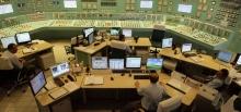 paksi atomerőmű vezérlőterme