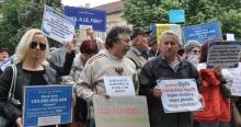 Quaestor tüntetés Kecskeméten