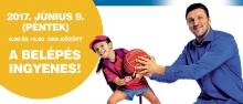 VII. Kecskeméti Nagy sportágválasztó plakátja