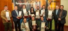 syngenta országos borverseny díjazottai
