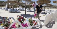 tunéziai tengerpart a terrortámadás után