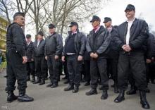 új magyar gárda eligazítás