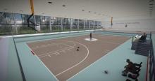 kecskeméti kosárlabda akadémia látványtervei