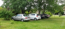 parkolók a Vacsiközben