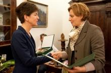 Varga Mónika és Szemereyné Pataki Klaudia