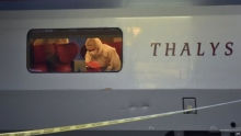 helyszínelés a Párizs Amszterdam vonaton