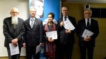 Raoul Wallenberg Egyesület díjátó ünnepség