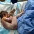 leforrázott gyermek a kórházban