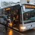 Mercedes hibrid busz Kecskeméten