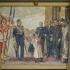 Horthy falfestmény Kecskeméten
