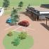 nappali ellátást biztosító épület tervei