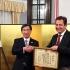 Király Józsefet kitüntette a japán nagykövet