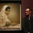 Juszufzai Malala portré - Jonathan Yeo