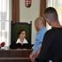 Lévai Judit bíró előtt a bombafenyegető N. Márk
