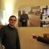 Radó Vilmos törzshelye a kecskeméti Delicatesse Eszpresszóban