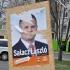 Salacz lászló képviselőjelölt plakátja Kecskeméten