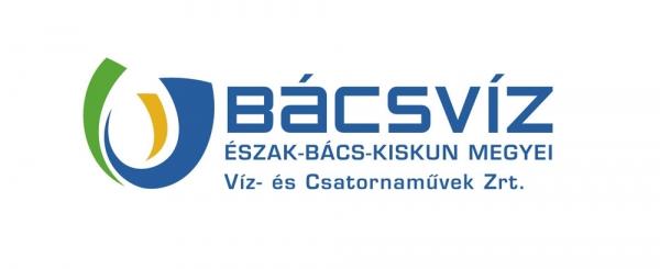 bácsvíz zrt. logó