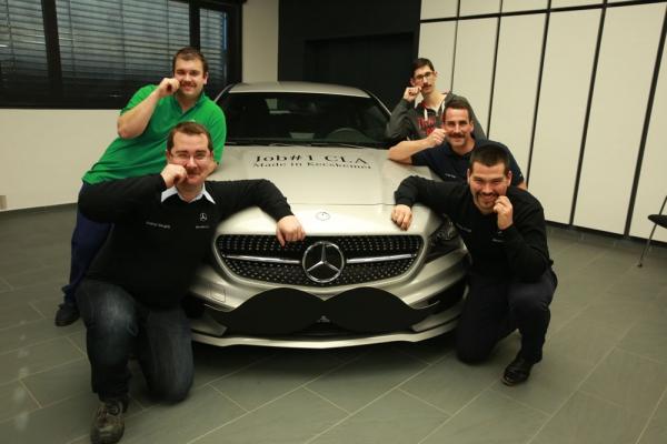 egészségnap a Mercedes gyárban