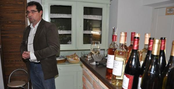 Béla Zoltán keceli borász bemutatója