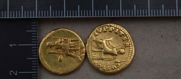 ókori arany pénzérmék