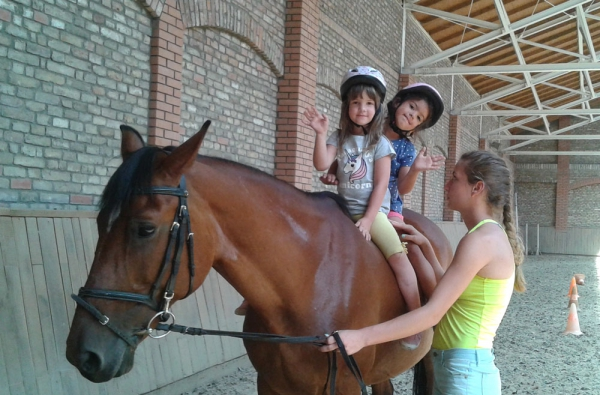 lovastábor gyerekekenek