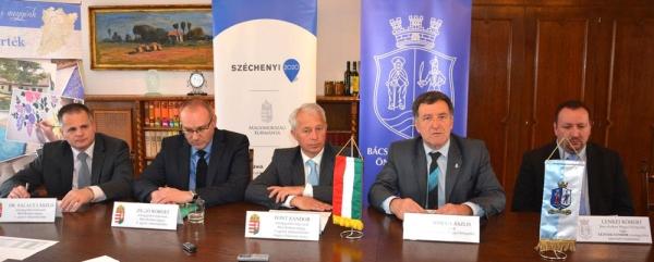 Rideg László a Bács-megyei közgyűlés elnöke