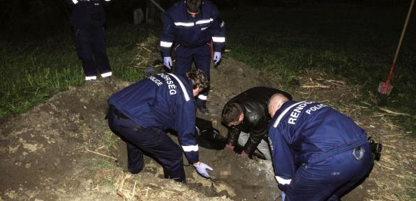 megtalálták a holttestet