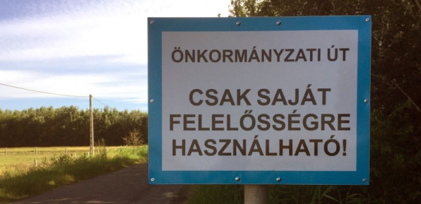 önkormányzati út